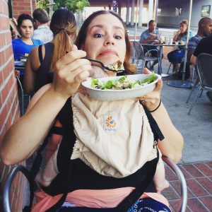 The Ergo at Chipotle